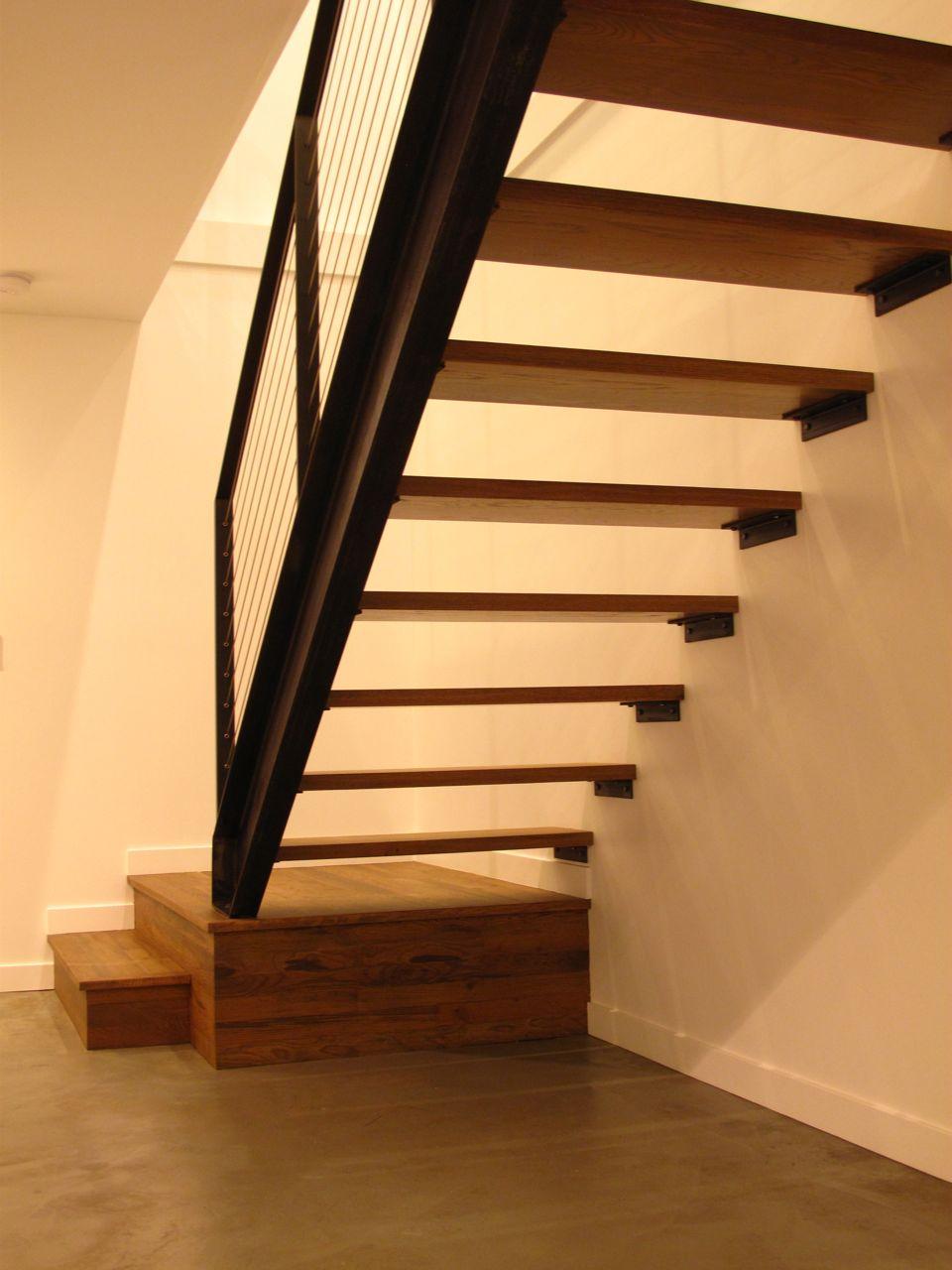 Mid Century Modern Home Hardwood Floor Installation